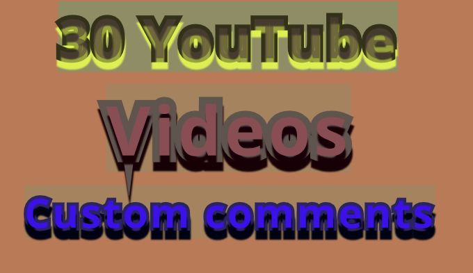 Get Manualy Promotion 30 You-tube videos very fast in 2-5 hours
