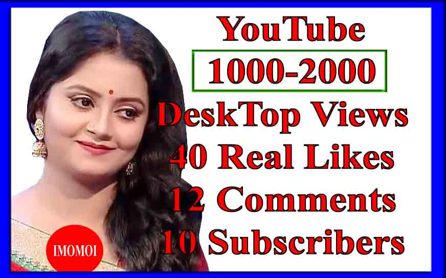 Instant 2000 Lifetime_views +100 Likes+10 Comments+10 Subscribers