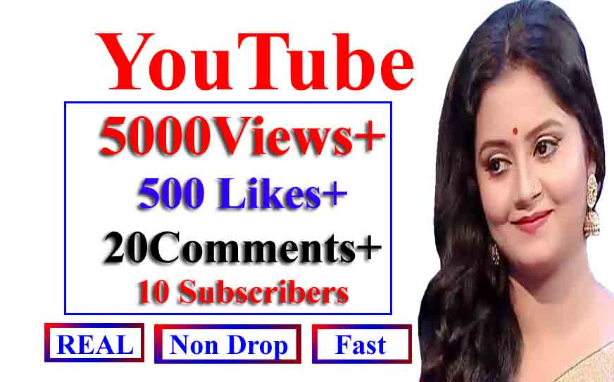 Instant Y0utube 3000-4000 V_iews+ 12 Llkes+ 12Commts+ 12 Subs