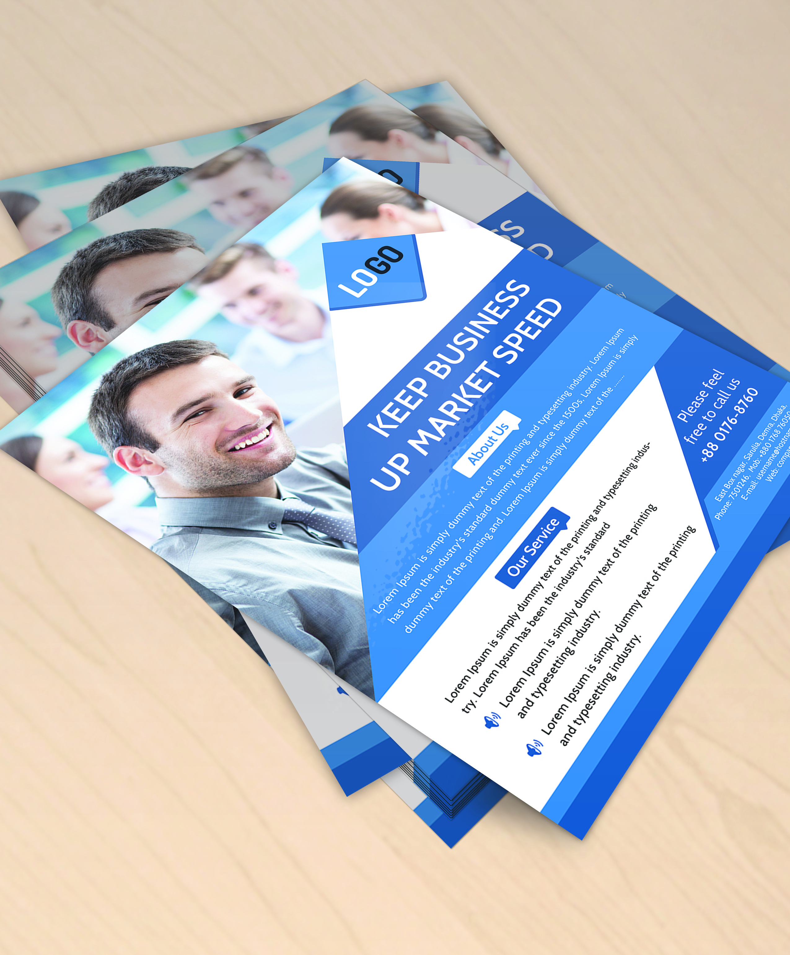 Design Professional Business Flyer