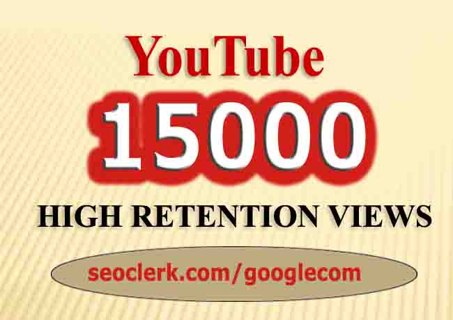 YOUTUBE Retention 3000 Views so fast