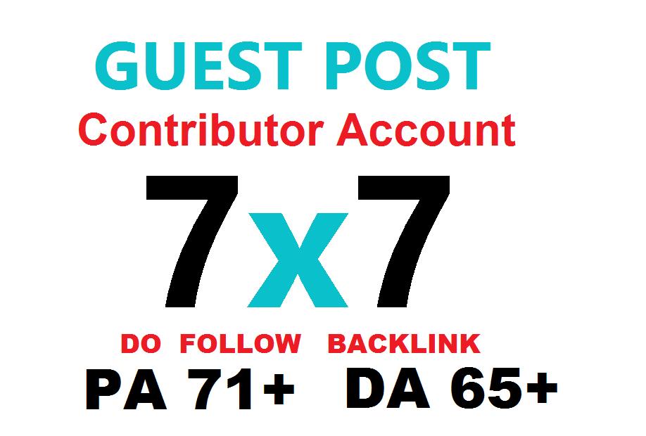 Write n Publish Guest Post 7x7 Do Follow Backlink