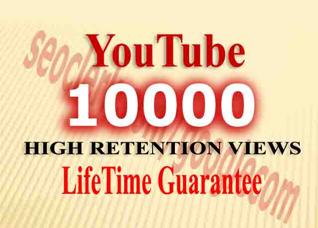 1000_HR lifetime Views+ 50Likes + 5Comments+ 5Subs