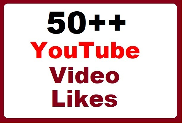 50+ YouTube Video thumbs up Promotion instant start, fastest delivery