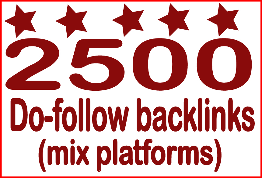 Boost Site Alexa Rank with 2500 do-follow Backlinks