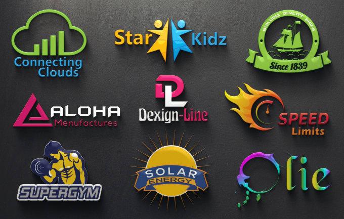 Professional 2D & 3D Logo Design / Vector /  Source File / + FREE BONUS