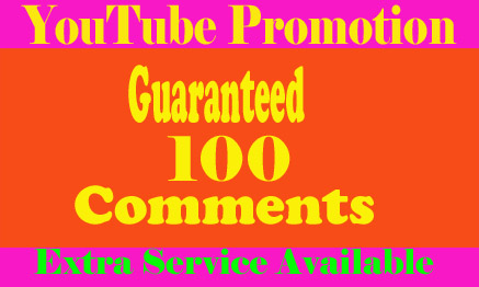 Guaranteed and safe from UK/USA users 100 Custom comments