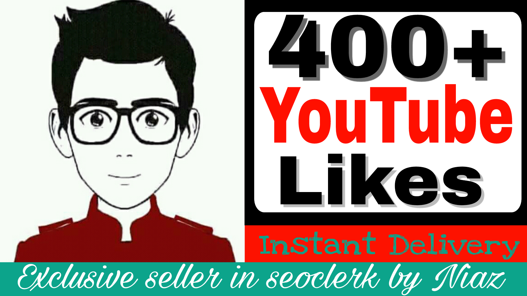 Get instant 400+ likes in your videos supper fast deliver