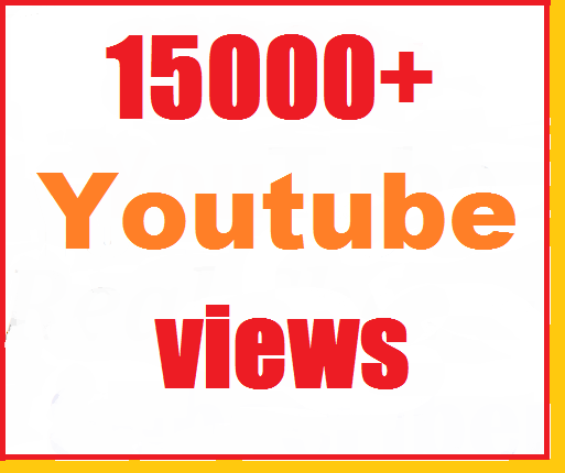 15000+ Youtube Views High Retention split available just