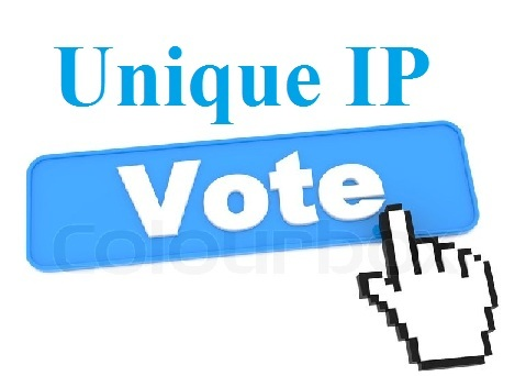 Manually 100 Different USA ip online contest votes