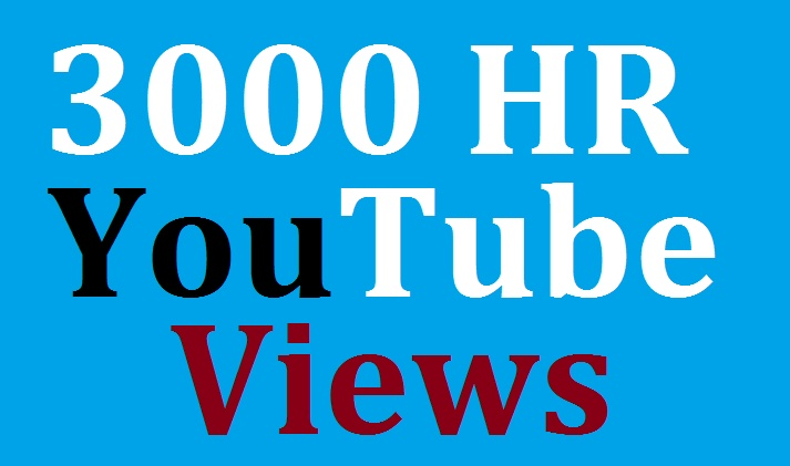 Safe 2000 Youtube  views fast in complete