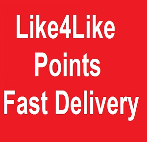 Like4Like 5k/5000 points fast delivery