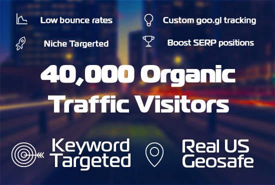 do  2,000,000 ORGANIC genuine traffic visitors