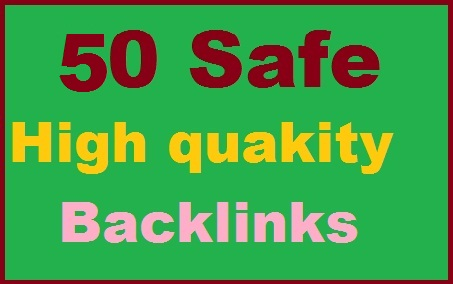 Get 50 High Quality Back links for your Site