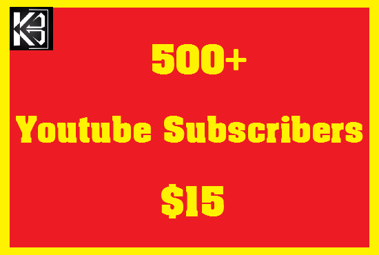 500+ YouTube SUB High Quanlity Real & Non Drop