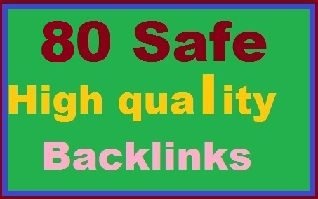 Instant START 80 High Quality Back links for your Site