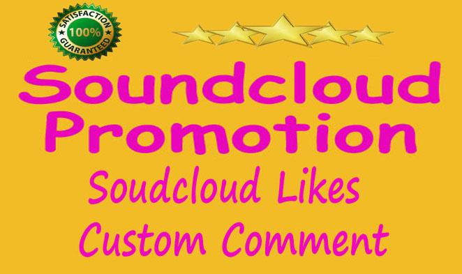 I'm Paying 150 Soundcloud Followers+ 150 Soundcloud Like+ 100 Re-post+ 40 HQ Custom Comments