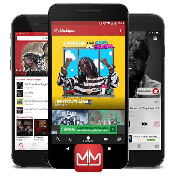 Mymixtapez Single uploads and mixtapes with promo