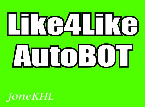 Like4Like AutoBOT Unlimited Credits Collect