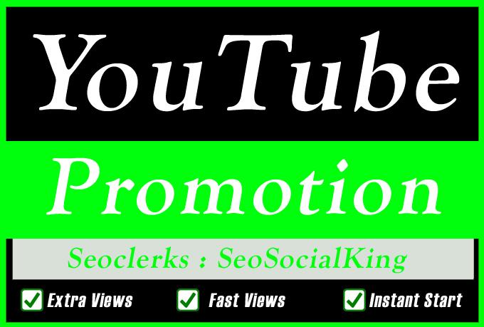 Organic YouTube Video Promotion Seo marketing