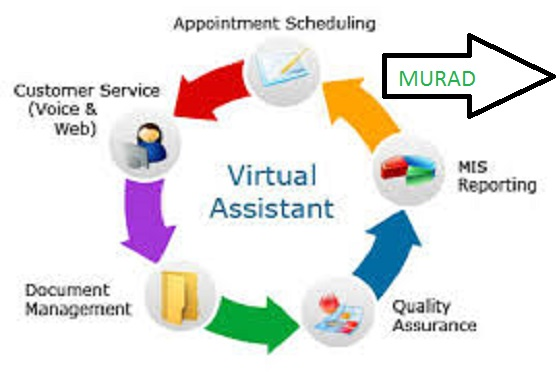Be Your Virtual Assistant For Any Work