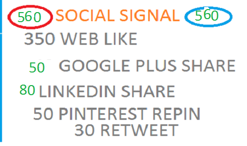 560  social signal  blog boost pack