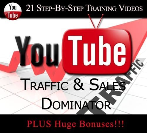 Learn How To Get Website Traffic &Sales Using YouTube(21 Training Videos)