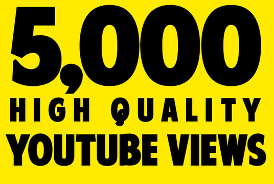 Fast 5000 Safe YouTube Video Views