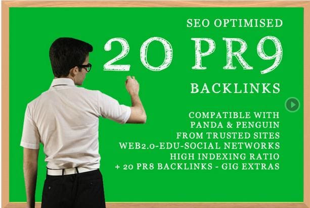 create 20 pr 9 backlinks to boost your google ranking