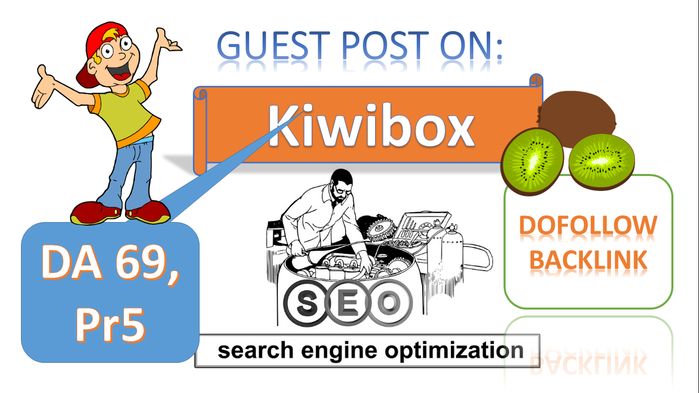 We'll Write and Publish VALUE Guest Post On Kiwibox Pr5