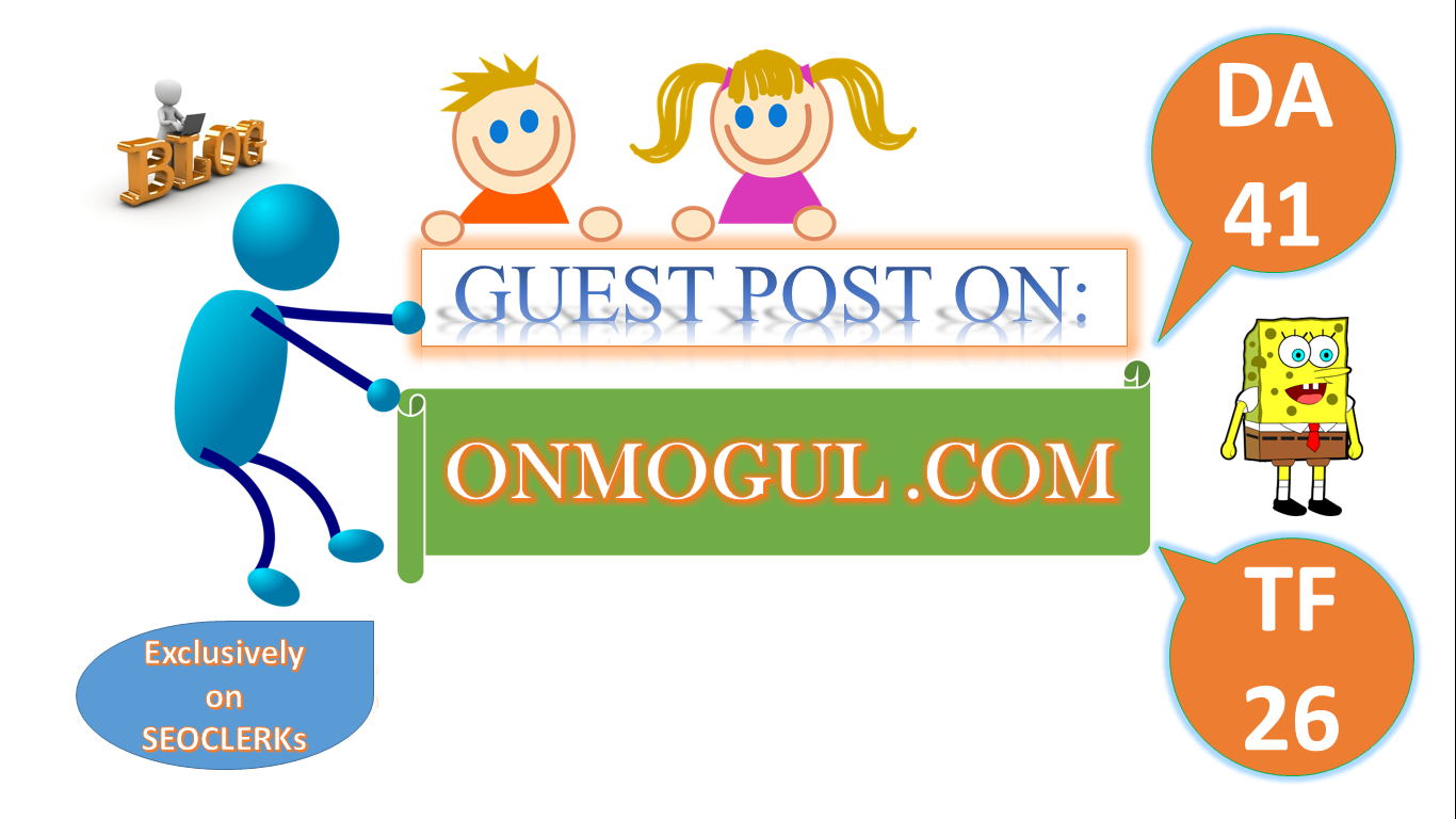 We'll Write Article about Your Topic & Publish Guest Post On Onmogul DA41,  TF26