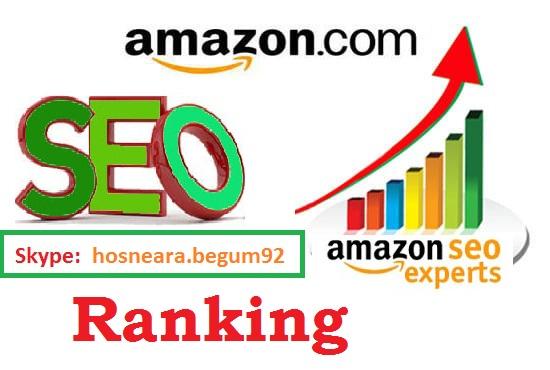 provide unlimited traffic do seo service for amazon ranking