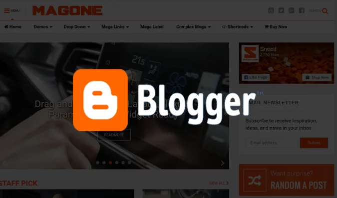 Create A Beautiful Blogger Site For You