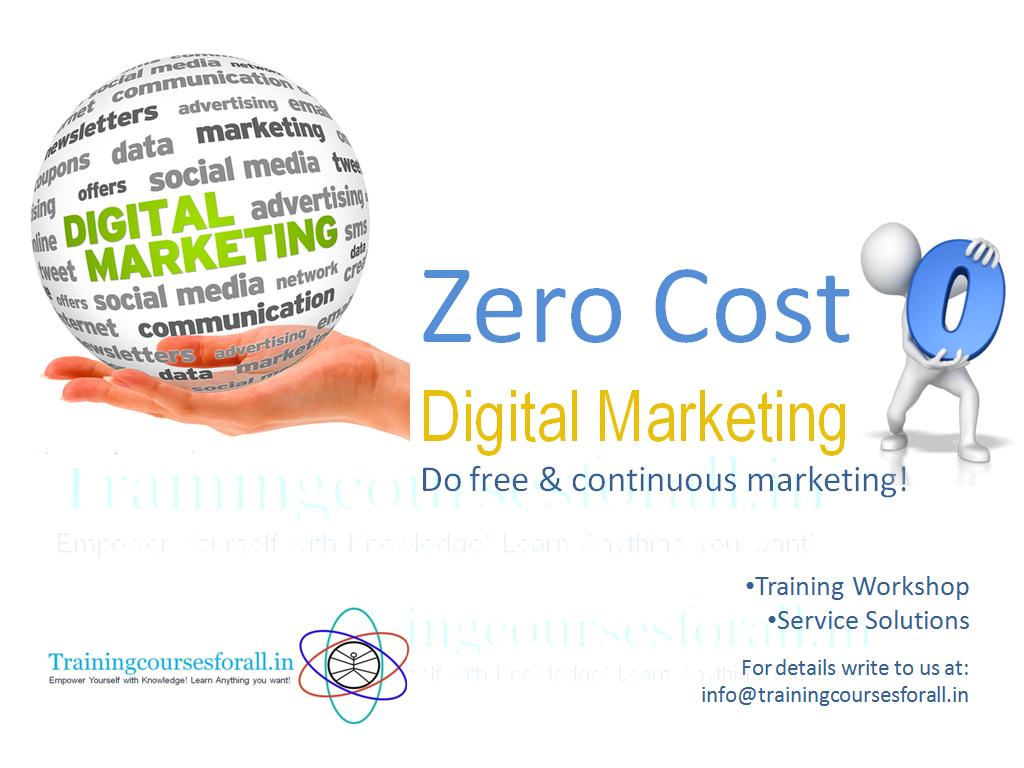 Zero Cost Marketing Solutions