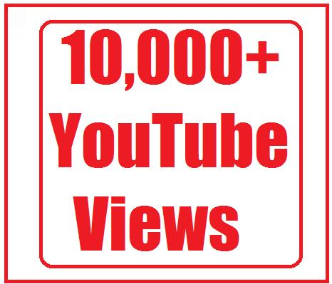 10000+ youtube views split available 2 link very fastest and nondrop 18-24 hours delivery