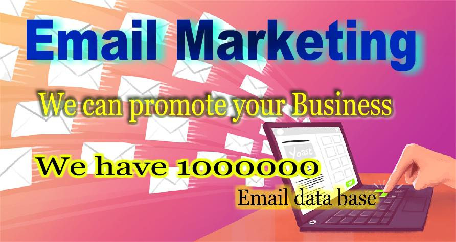 Do Email Marketing  please contact me