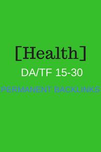 Health Niche Permanent Powerful PBN Links Includes Articles