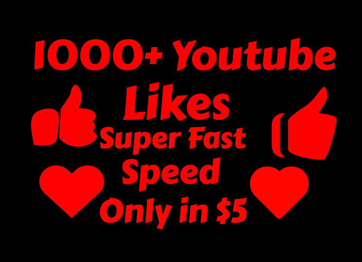 add 1000+ Real and Instant Youtube Lik es