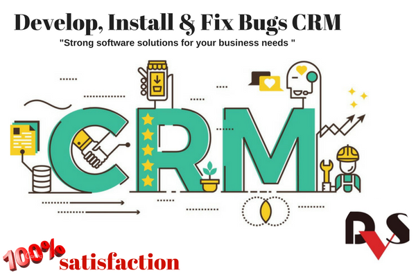 Develop, install, fix bugs CRM