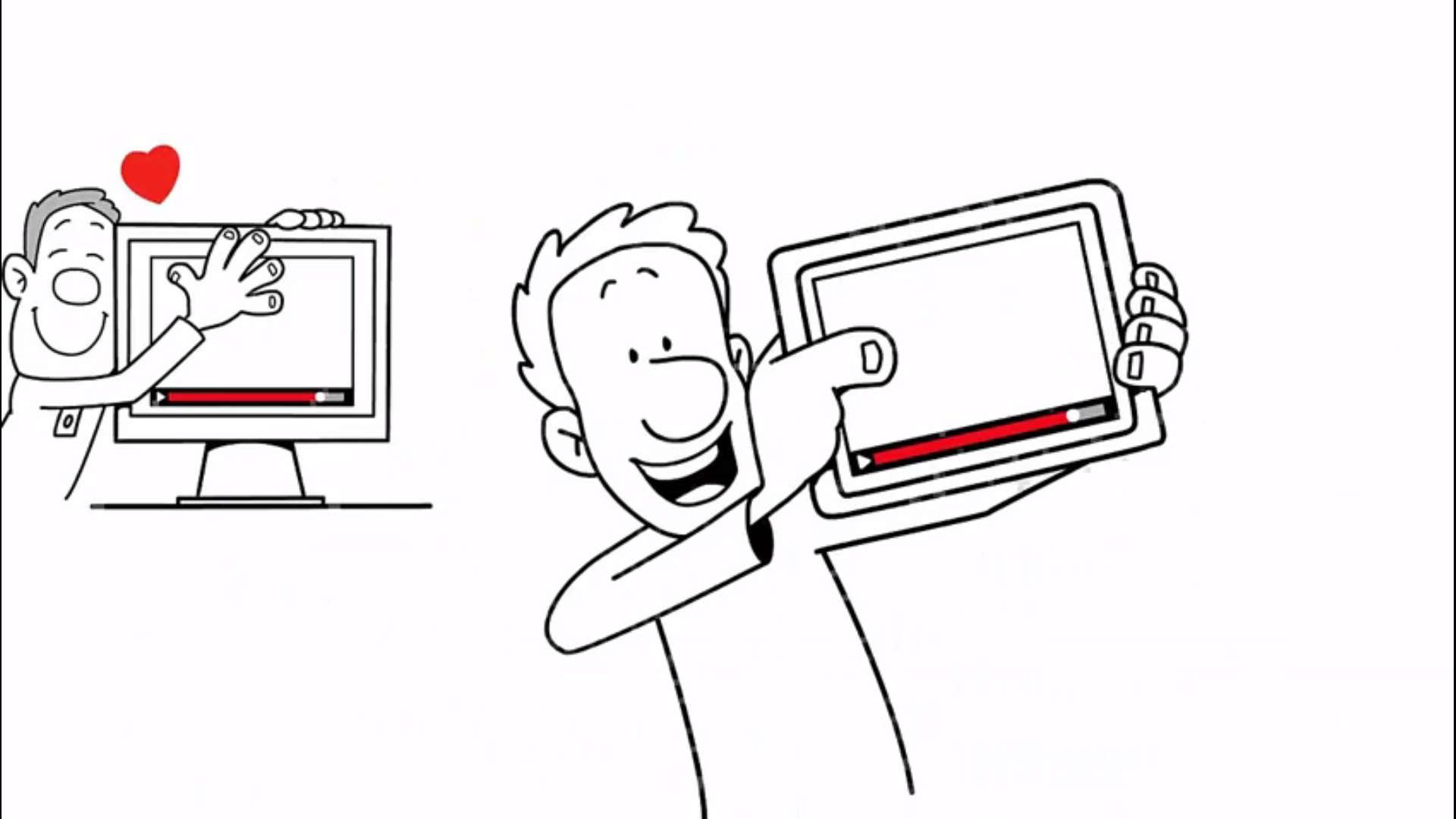 Whiteboard animation
