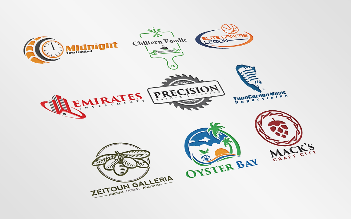 create outstanding and professional logo for your company or business