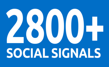 provide you 2800 social signals From best top 5 social media sites