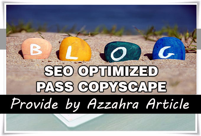I Will Write 7 Articles 500 words each, SEO Optimized and Pass Copyscape