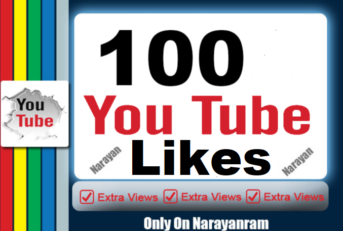 Get 100 Real YouTube Lik'es Instant Start