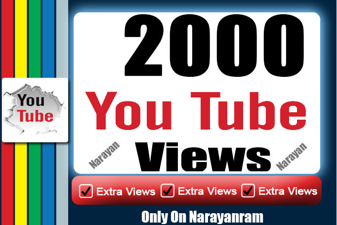 Get 1500 High Quality Views fully safe instant start