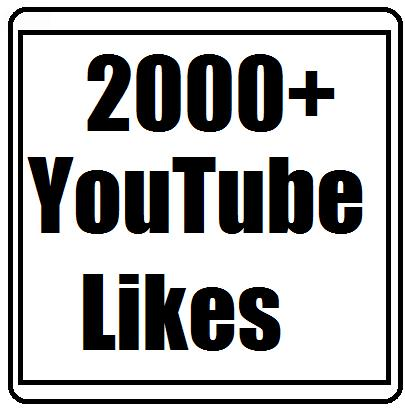 Offer 2050+ Youtube Likes Safe and Nondrop Guaranteed Fast