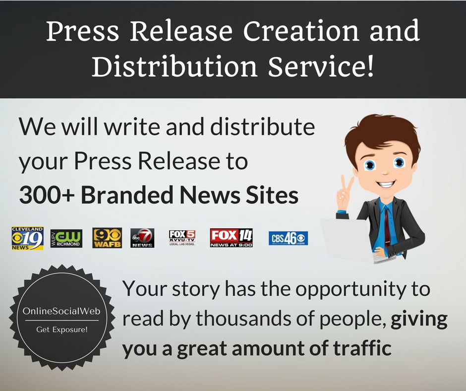 PREMIUM Press Release Creation and Distribution Service