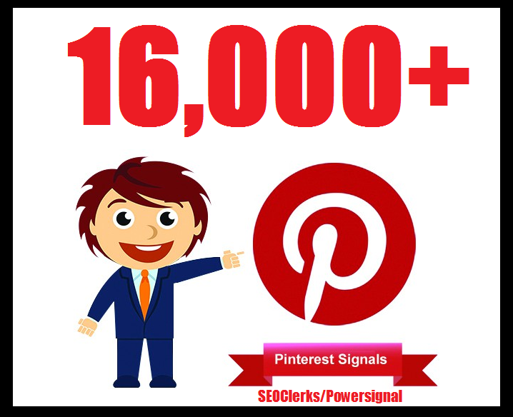 Bumper offer 16,000+ Pinterest USA Social Signals Life Time Benefit To Skyrocket Your Website SEO Traffic & Shares Bookmarking & Affiliate Marketing & Business Promotion Google Ranking