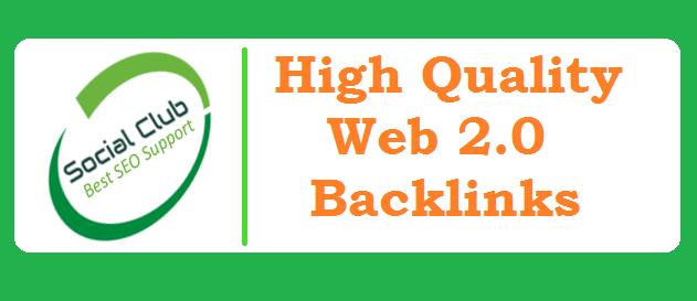 Give You 60 High PR web 2.0 Backlinks