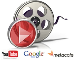 Create Professional Video and MANUALLY submit to 15 popular vids sites like Youtube, Metacafe, Vimeo